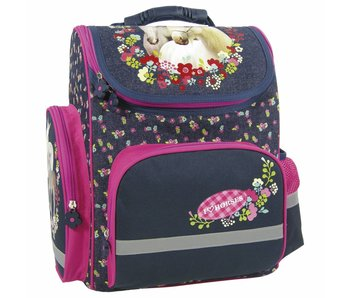 Animal Pictures Schoolbag Horses extra sturdy 35,5 cm
