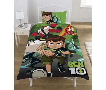 Ben 10 Go Hero - Quilt Cover - Single - 135 x 200 cm - Multi