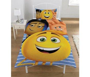 Emoji Movie - Quilt Cover - Single - 135 x 200 cm - Multi
