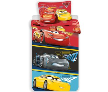 Disney Cars Dekbedovertrek Racing Series 140x200cm + 70x90cm