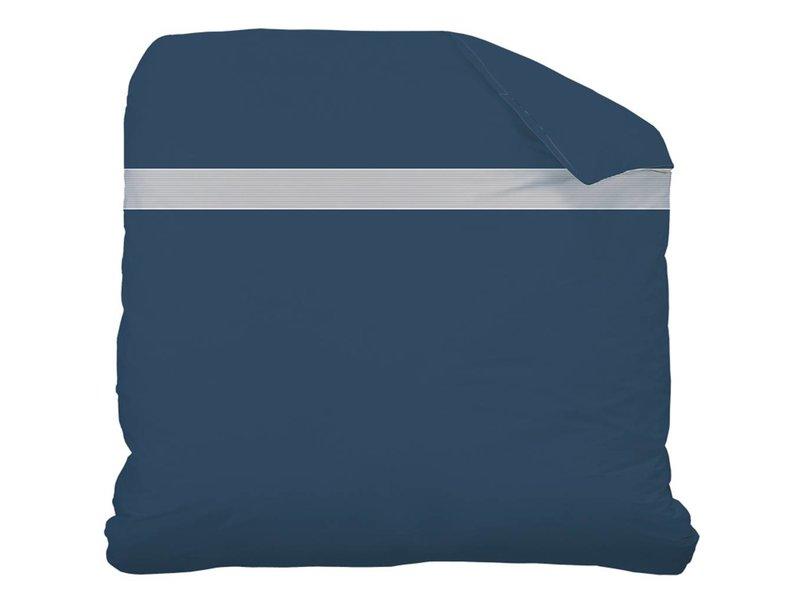 Matt & Rose Plissé Tendance - Duvet Cover - Hotel Size - 260 x 240 cm - Blue - Including 2 pillowcases
