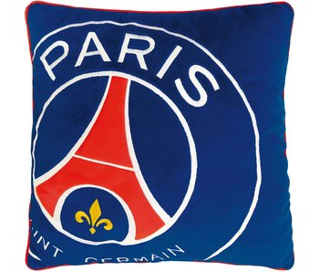 Paris Saint Germain Cushion Logo 36x36cm 100% Polyester