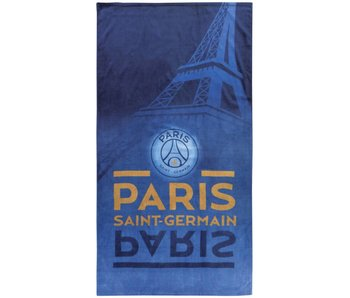 Paris Saint Germain Eiffel Handtuch 85x160cm