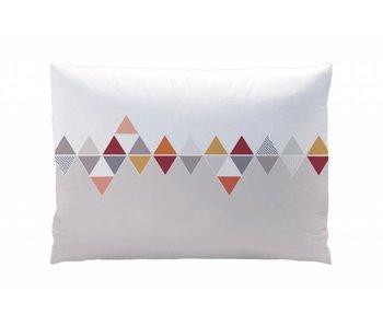 Matt & Rose Pillowcase Esprit scandinave burgundy 50x70cm