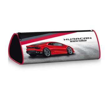 Lamborghini Huracan round pencil case