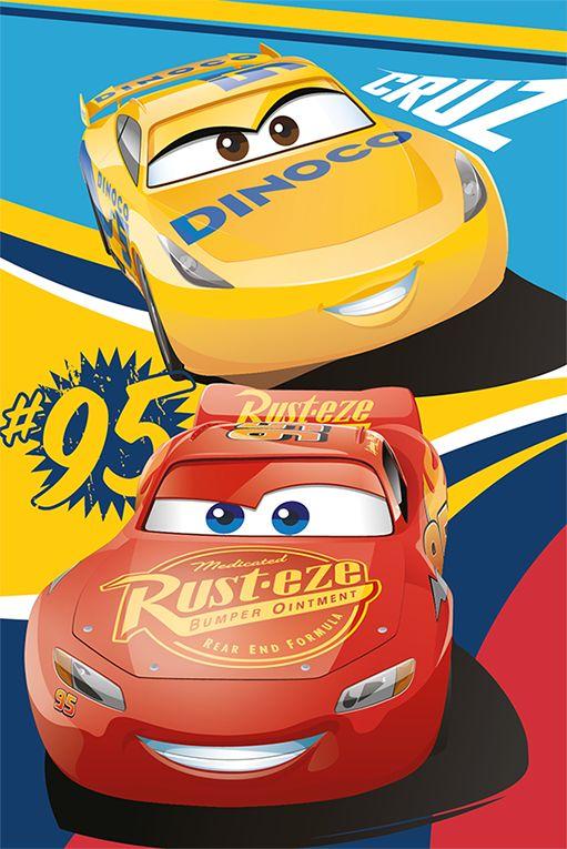 Disney Cars Cruz Ramirez Amp Lightning Mcqueen Fleece