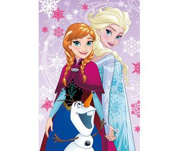 Disney Frozen Fleece plaid Magic