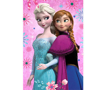 Disney Frozen Fleecedecke Blumen