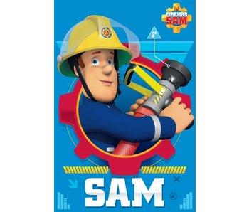 Brandweerman Sam Fleeceplaid Action 100x150cm