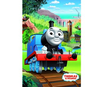 Thomas de Trein Fleece plaid Tour 100x150cm