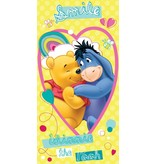 Winnie the Pooh Smile - Strandlaken - 70 x 140 cm - Multi