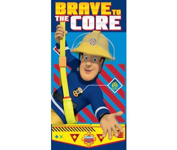 Brandweerman Sam Braver Strandtuch 70x140cm