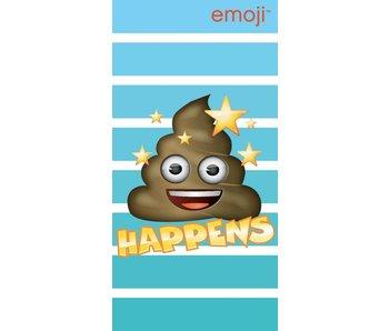 Emoji Strandlaken Happens 70x140cm