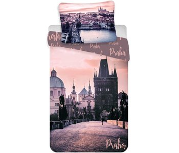 Praag City Bettbezug Romantique