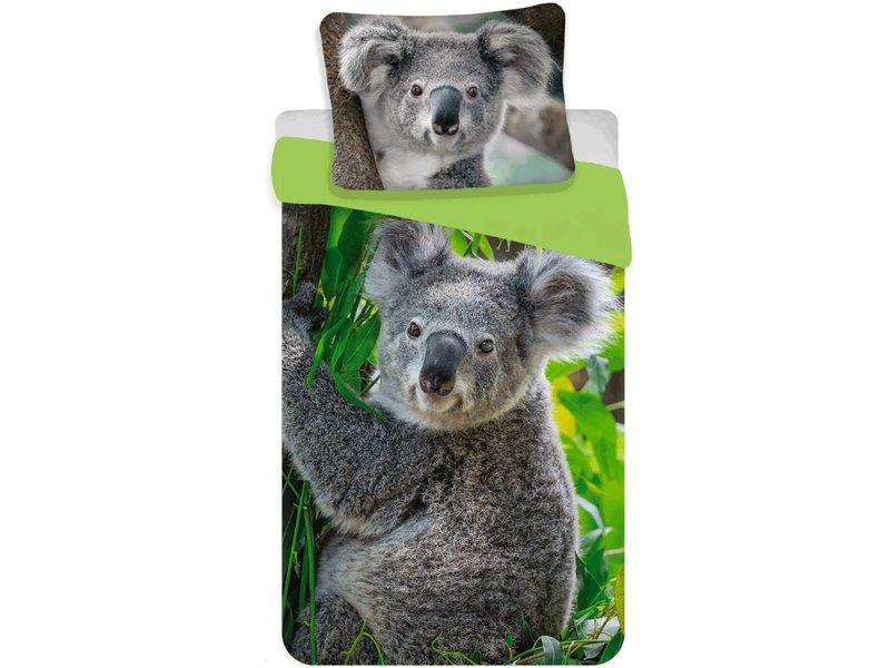 Animal Pictures Koala - Dekbedovertrek - Eenpersoons - 140 x 200 cm - Multi
