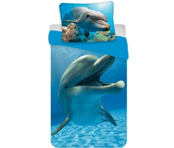 Animal Pictures Dekbedovertrek Dolfijn