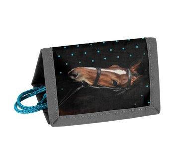 Animal Pictures Wallet Mein schönes schwarzes Pferd