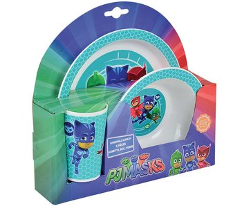 PJ Masks breakfast set 3 pieces
