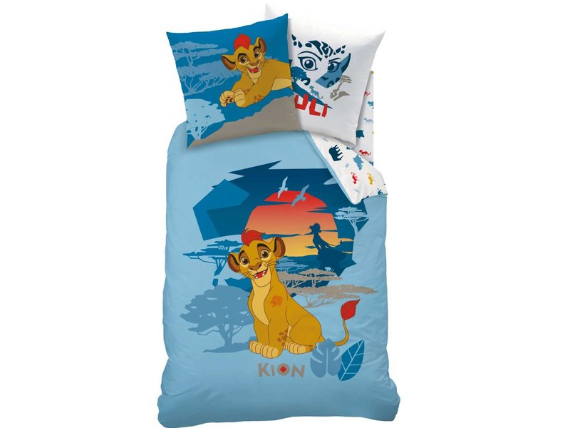 The Lion King Kion - Dekbedovertrek - Eenpersoons - 140 x 200 - Multi