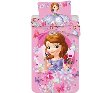 Disney Sofia The First Dekbedovertrek Flowers 140x200