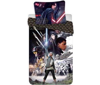 Star Wars Dekbedovertrek The Last Jedi 140x200 + 70x90cm