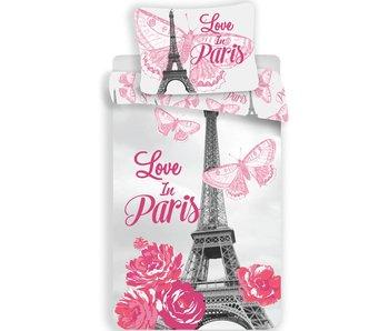 Parijs Duvet cover Love 140x200 + 70x90cm