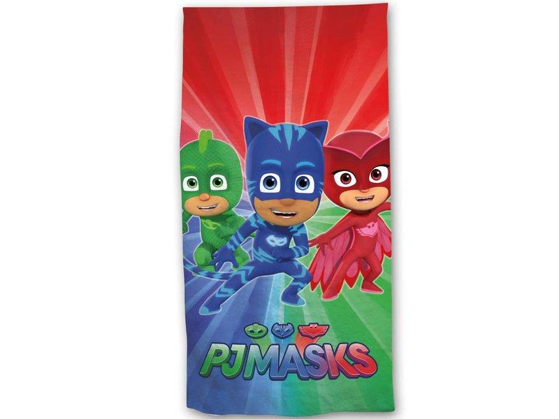 PJ Masks - Strandlaken - 70 x 140 cm - Multi