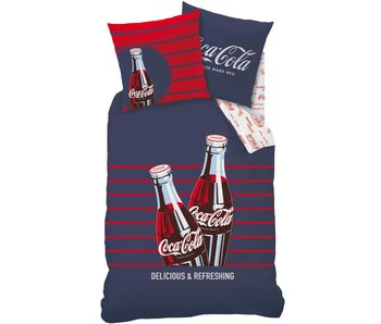 Coca Cola Duvet cover Lines 140x200cm