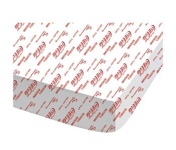Coca Cola Fitted sheet Lines 140x200cm
