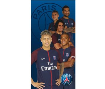 Paris Saint Germain Strandtuch Players 75x150cm