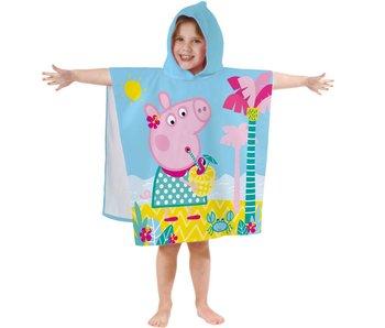Peppa Pig Badcape Summer 60x120