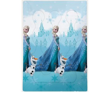 Disney Frozen Beddensprei Castle 140x200cm