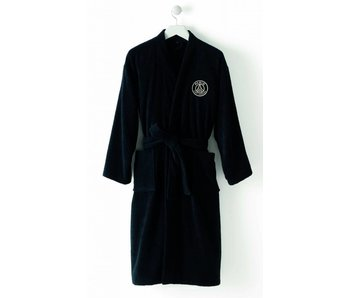 Paris Saint Germain Bademantel Black XXL