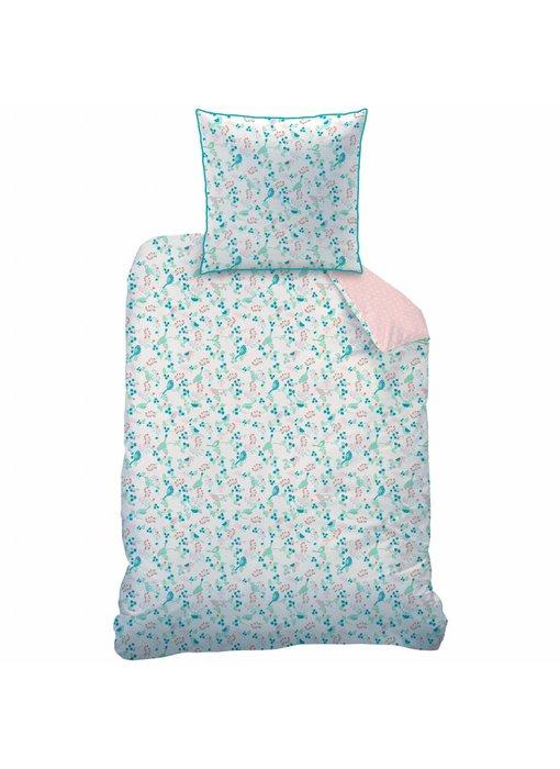 Matt & Rose Duvet cover Jardin 140 x 200 + pillowcase 63x63 cm
