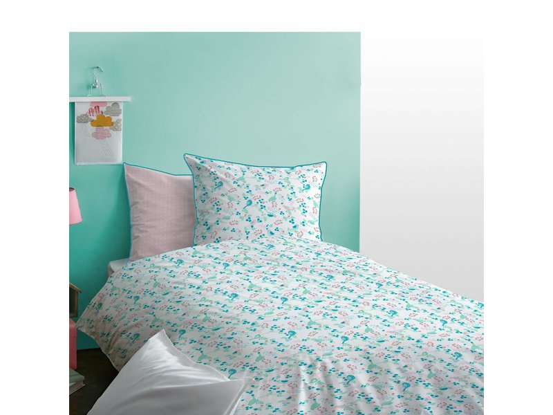 Matt & Rose Jardin - Duvet cover - Single - 140 x 200 cm - Multi