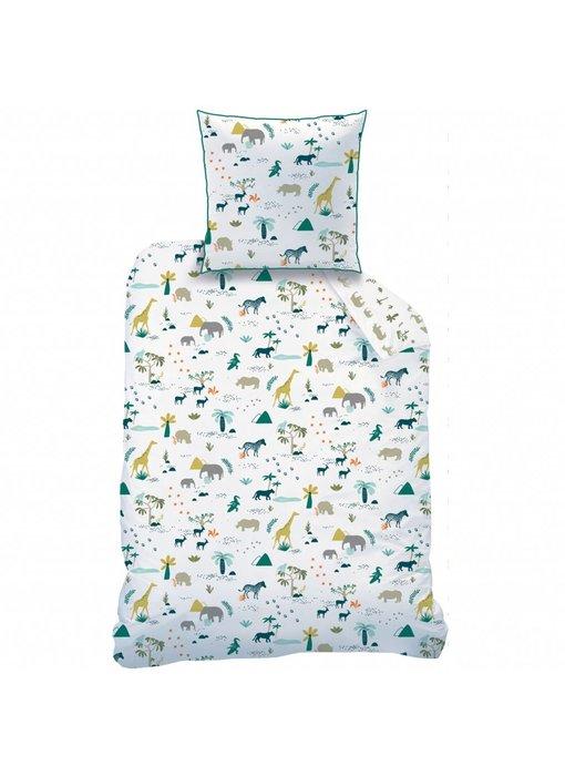 Matt & Rose Duvet cover Safari 140 x 200 + pillowcase 63x63 cm