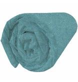 Matt & Rose Tendance Oasis - Spannbetttuch - Doppel - 160 x 200 cm - Blaugrün