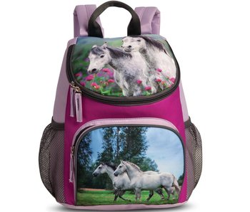 Animal Pictures Backpack Horse Lilac 30 cm