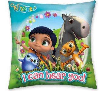 Wissper Cushion I Can Hear You 40 x 40 cm