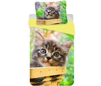Animal Pictures Bettbezug Katze 140x200 cm
