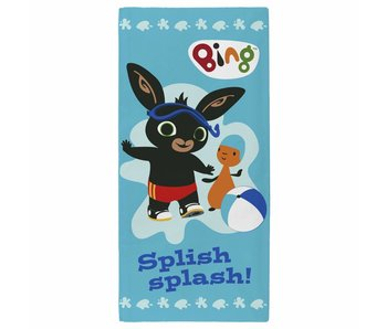 Bing Bunny Beach towel Splish Splash 70 x 140 cm