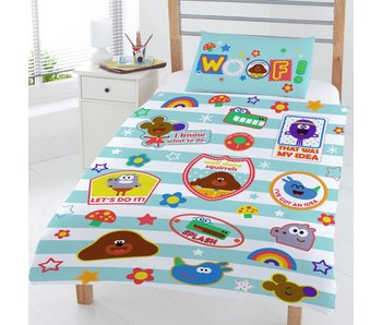 Hey duggee Duvet cover Woof junior 120x150 + 42x62cm
