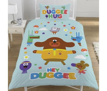 Hey duggee Duvet cover Hello Squirrels single 135x200 + 50x75cm