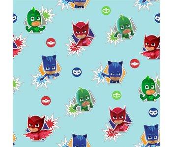 PJ Masks Wallpaper Helden Rollen 10m x 53cm
