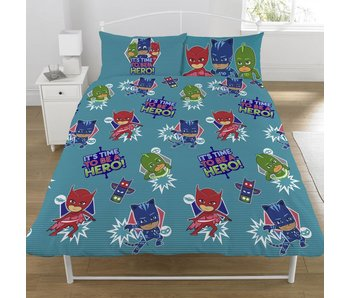 PJ Masks Duvet cover Be A Hero double 200x200 + 50x75cm