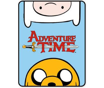 Adventure Time Fleece plaid 120x150cm