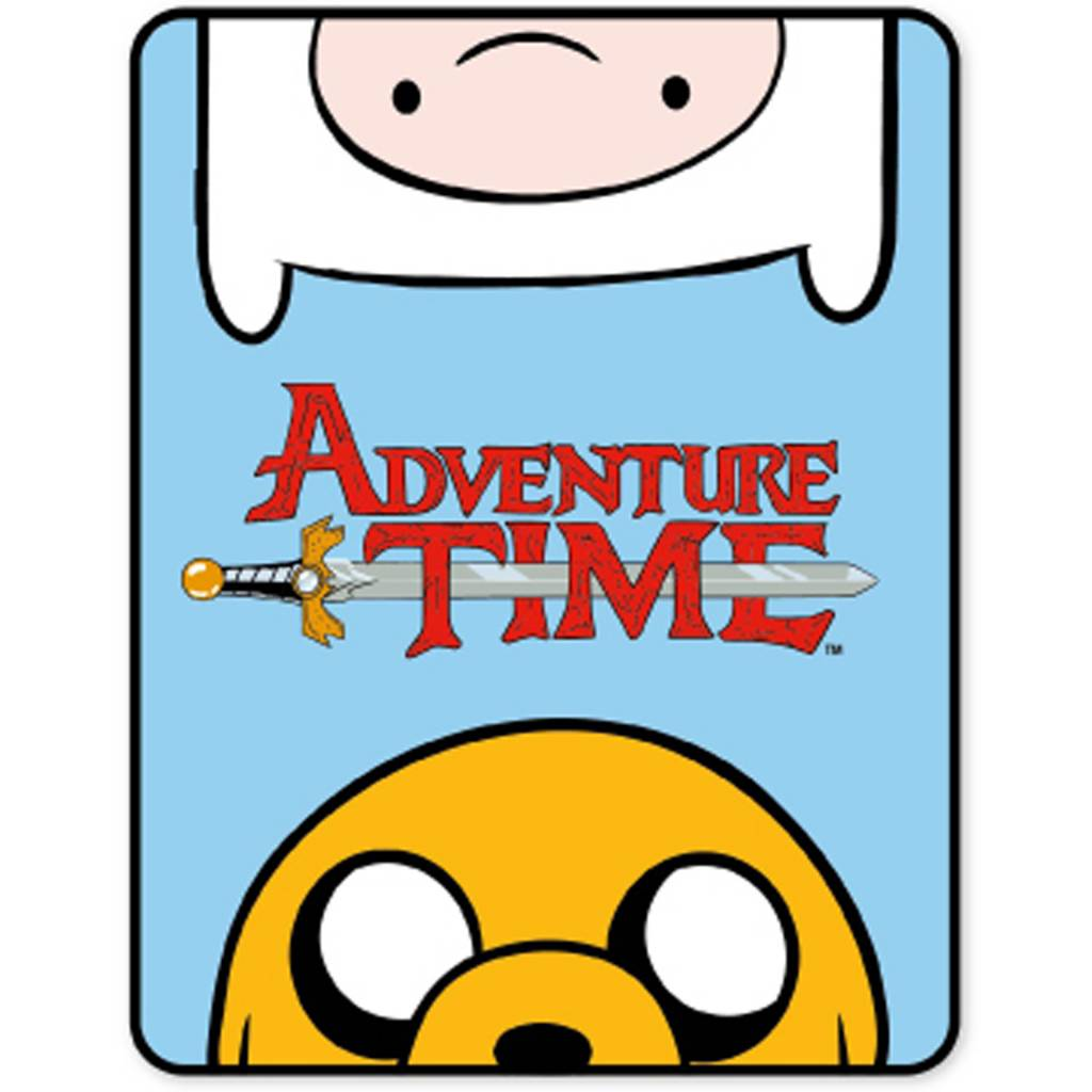 Adventure Time Fleeceplaid 120 x 150 cm - 100% Polyester