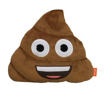 Emoji Cushion 3D plush Poo 26x33cm