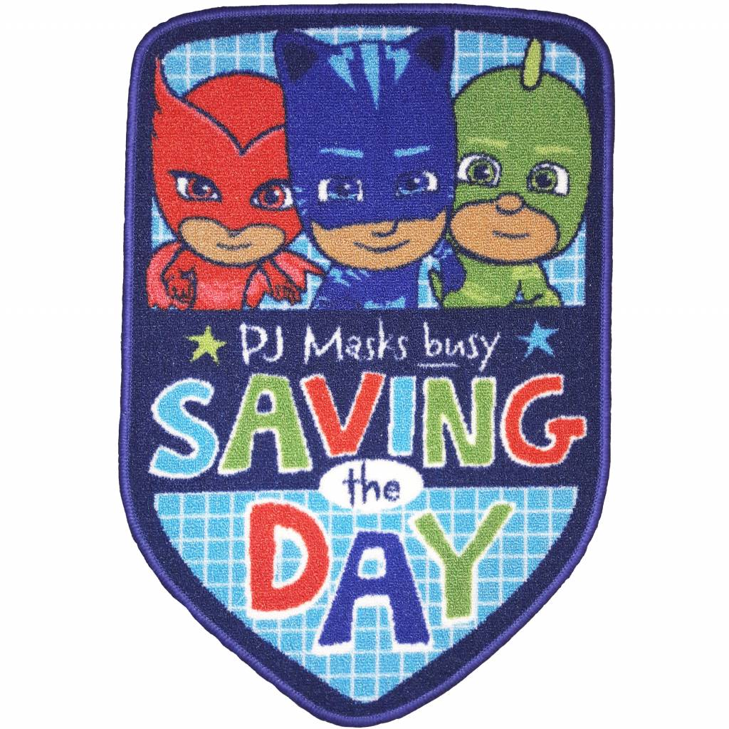 PJ Masks Vloerkleed Save The Day 53 x 80cm - Polyester