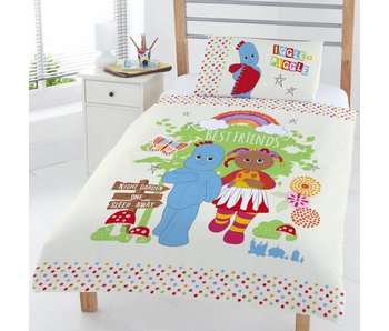 In the night Garden Duvet cover Friends junior Single 120x150 + 42x62cm